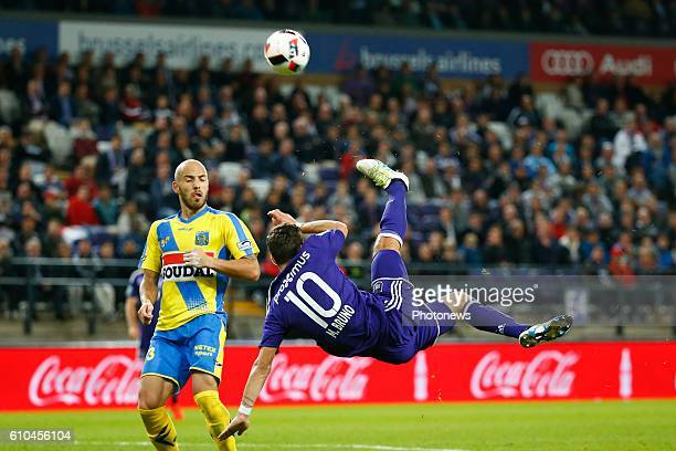Massimo Bruno midfielder of RSC Anderlecht pictured during Jupiler Pro League match between RSC Anderlecht and KVC Westerlo on september 25 2016 in...
