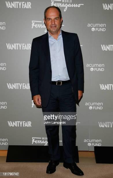 Massimo Ferragamo attends the Ferragamo WORLD launch party at Salvatore Ferragamo on October 21, 2010 in New York City.