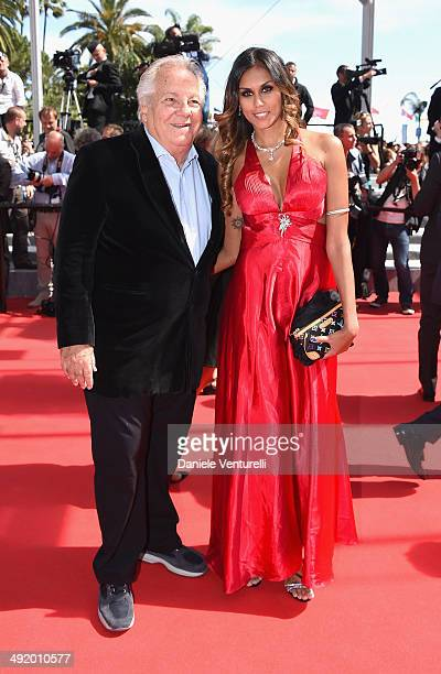 Massimo Gargia and guest attend 'The Wonders' Premiere at the 67th Annual Cannes Film Festival on May 18 2014 in Cannes France