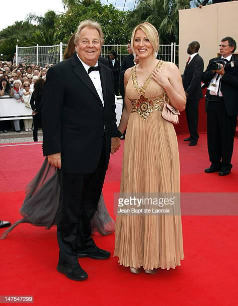 Massimo Gargia and Loana attend the premiere of ''Vengeance'' at the Grand Theatre Lumiere during the 62nd Annual Cannes Film Festival on May 17 2009...