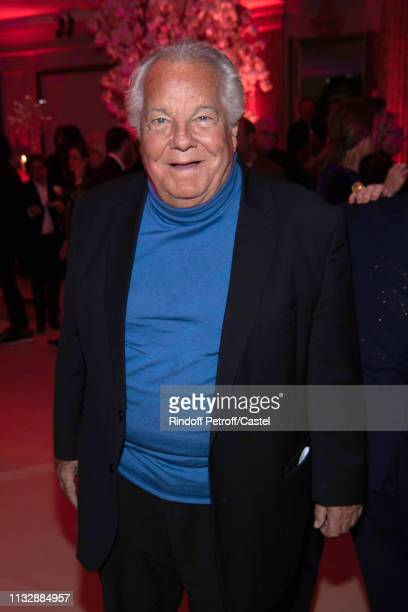 Massimo Gargia attends the 80th Kenzo Takada Birthday Party at Pavillon Ledoyen on February 28 2019 in Paris France
