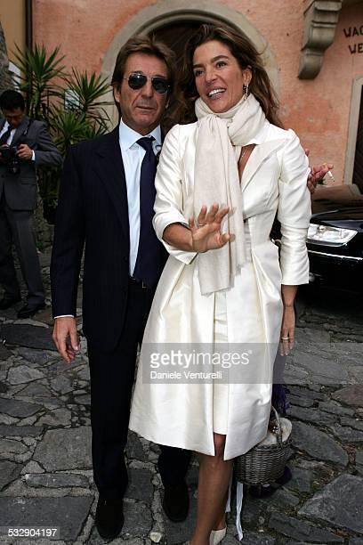 Massimo Gatti and Fiona Swarovski during Karl Hainz Grasser and Fiona Swarovski Wedding at Weissenkirchen in Weissenkirchen Wien Austria