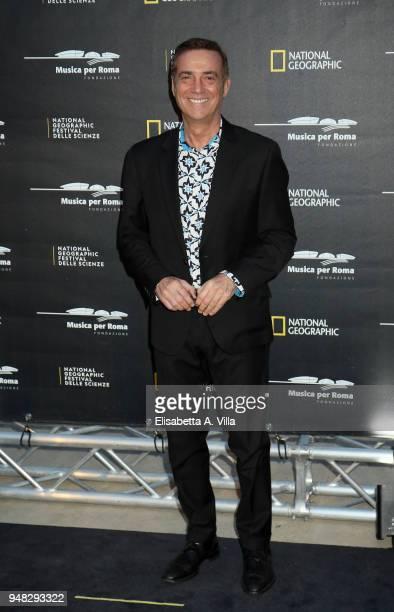 Massimo Ghini attends 'Genius Picasso' photocall at Auditorium Parco della Musica on April 18 2018 in Rome Italy