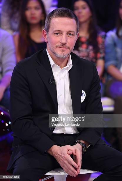 Massimo Giannini attends the 'Quelli Che Il Calcio' Tv Show on December 14 2014 in Milan Italy
