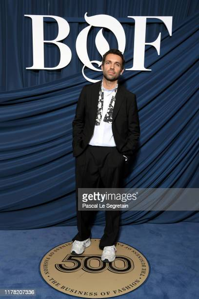 Massimo Giorgetti attends the #BoF500 gala during Paris Fashion Week Spring/Summer 2020 at Hotel de Ville on September 30, 2019 in Paris, France.