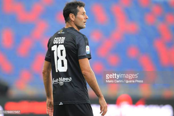 Massimo Gobbi of Parma Calcio looks on during the serie A match between SPAL and Parma Calcio at Stadio Renato Dall'Ara on August 26 2018 in Bologna...