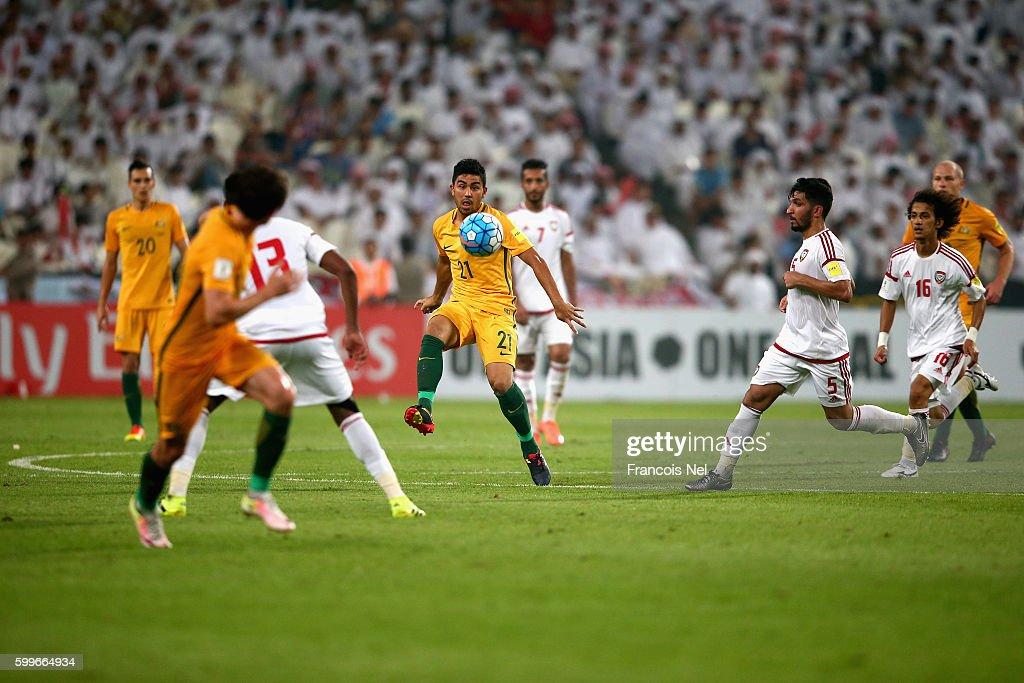 UAE v Australia - 2018 FIFA World Cup Qualifier : News Photo