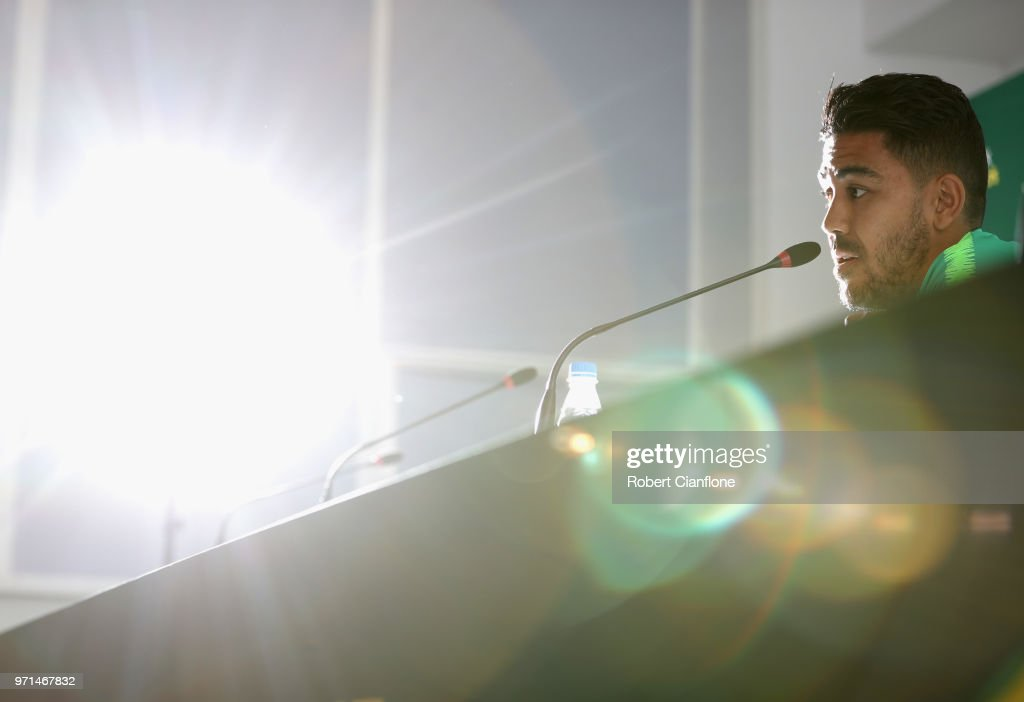 Australia Training and Press Conference
