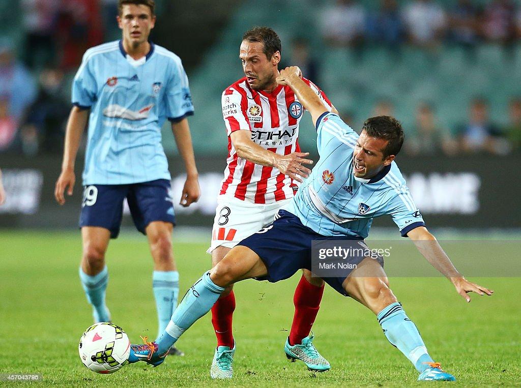 A-League Rd 1 - Sydney v Melbourne
