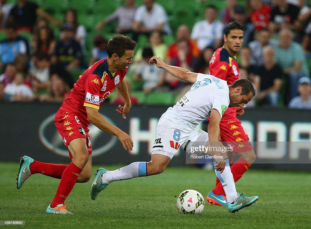 A-League Rd 4 - Melbourne v Adelaide
