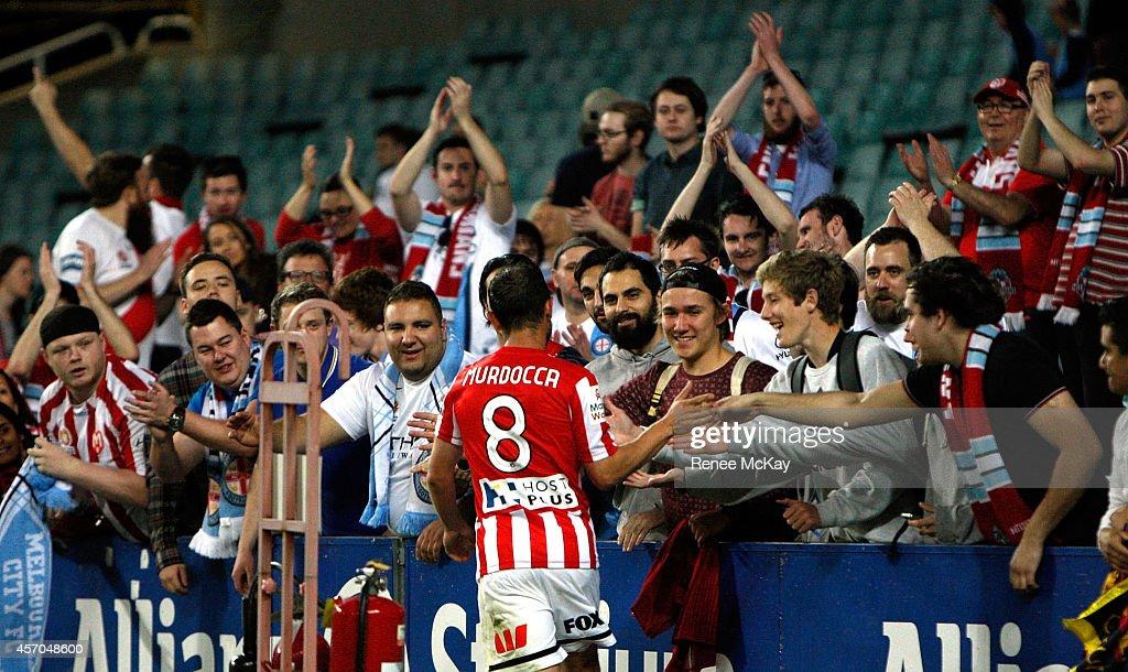 A-League Rd 1 - Sydney v Melbourne : News Photo