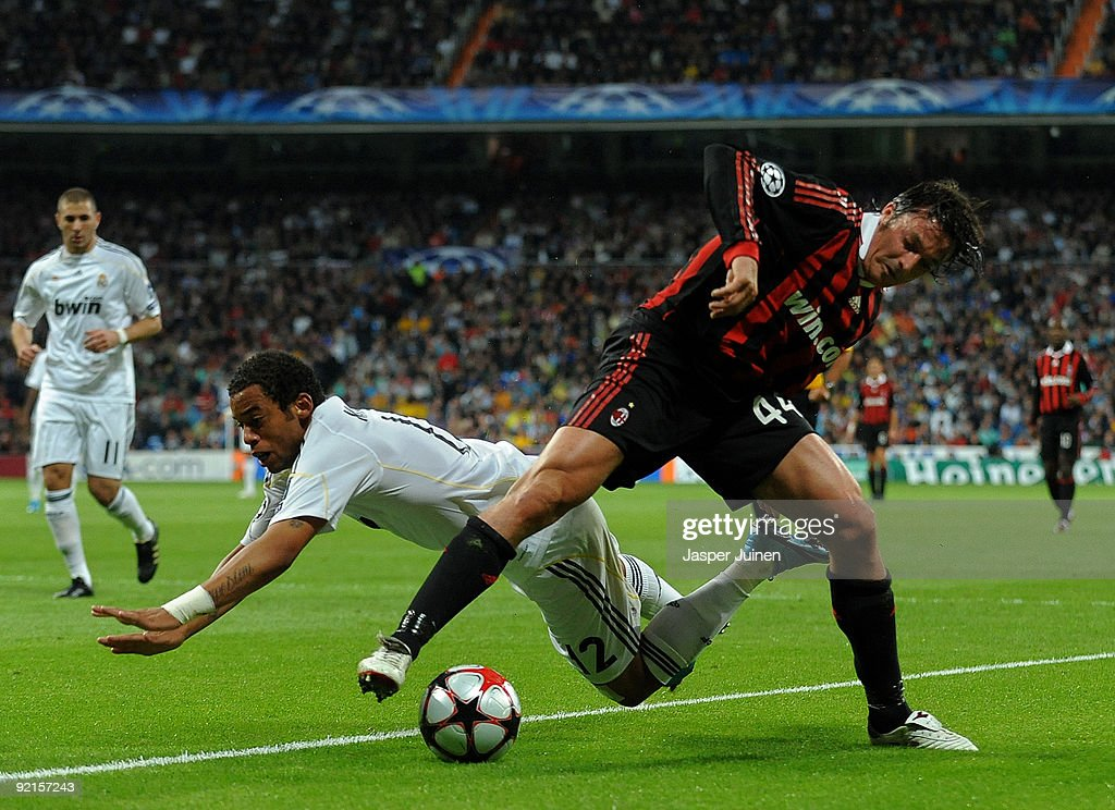 Real Madrid v AC Milan - UEFA Champions League