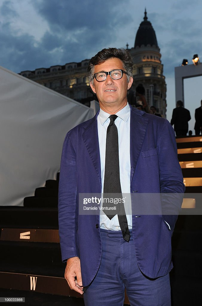 Massimo Piombo attends the Style Star Party at Carlton Beach during the 63rd Annual International Cannes Film Festival on May 21, 2010 in Cannes, France.