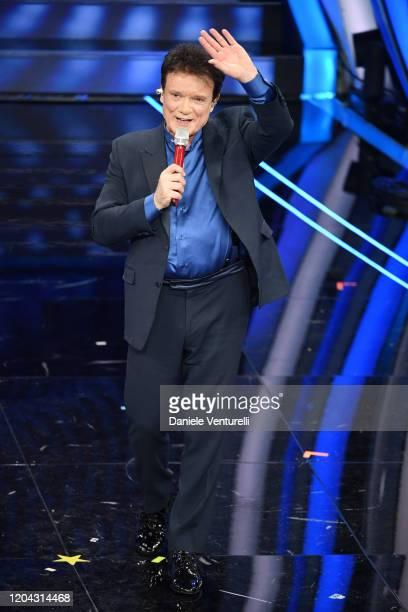 Massimo Ranieri attends the 70° Festival di Sanremo at Teatro Ariston on February 05 2020 in Sanremo Italy