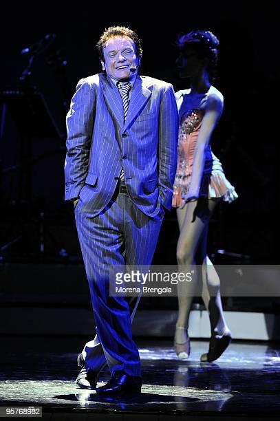 Massimo Ranieri performs at Smeraldo's theatre on April 09 2009 in Milan Italy