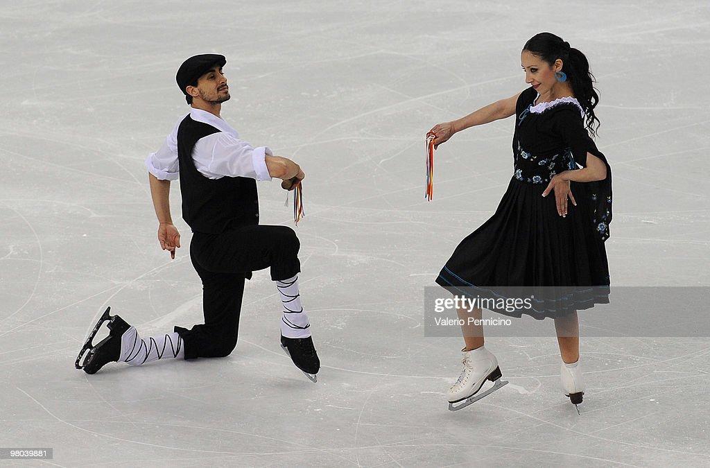 ISU World Figure Skating Championships - Day Three