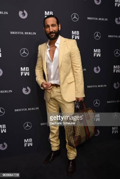 Massimo Sinato attends the Riani show during the MBFW Berlin January 2018 at ewerk on January 16 2018 in Berlin Germany