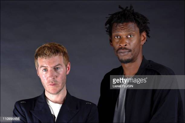 Massive Attack performs at the Montreux Jazz Festival in Montreux Switzerland on July 04th 2006