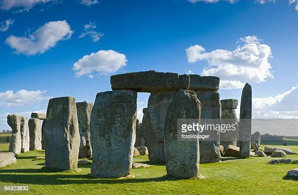Massive monoliths at Stonehenge
