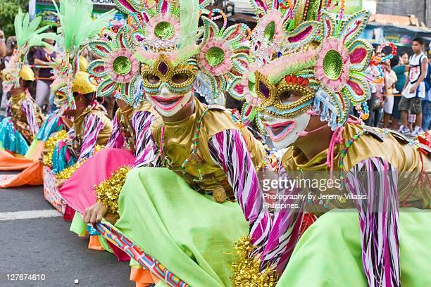 masskara festival - philippinen stock-fotos und bilder