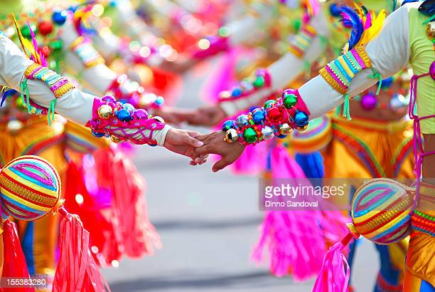 masskara festival - philippines stock pictures, royalty-free photos & images