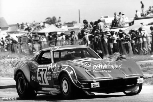 Masten Gregory Chevrolet Corvette 24 Hours of Le Mans Le Mans 11 June 1972