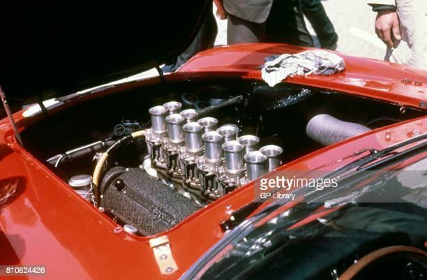 Masten Gregory Ferrari 250LMB Engine at Le mans 6th
