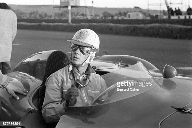Masten Gregory Ferrari 750 Monza Tourist Trophy Dundrod 17 September 1955