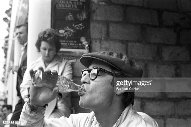 Masten Gregory Grand Prix of France RouenLesEssarts 08 July 1962