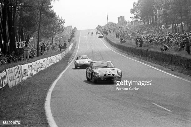 Masten Gregory Phil Hill Aston Martin DP215 24 Hours of Le Mans Le Mans 16 June 1963