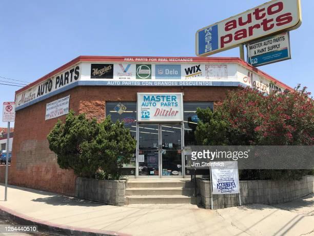 Master Auto Parts in Sun Valley, California on June 19, 2020.