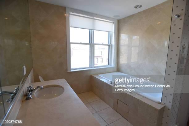 Master Bath. South End, 45 Concord Square, Unit 3. January 13, 2016. Staff Photo by Faith Ninivaggi