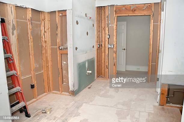 La salle de bains principale de rénovation: Démolition de la Phase