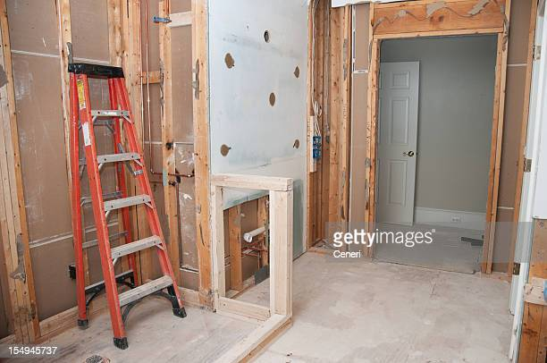 Master Bathroom Remodeling: Framing Phase