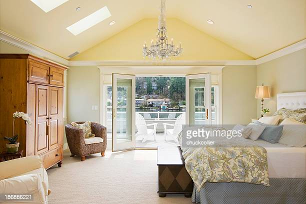 master bedroom - authority stock photos and pictures