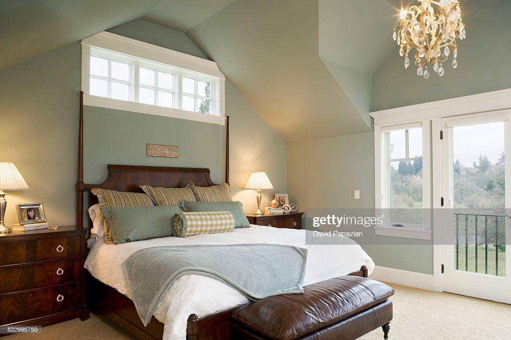 Master Bedroom : Stock Photo