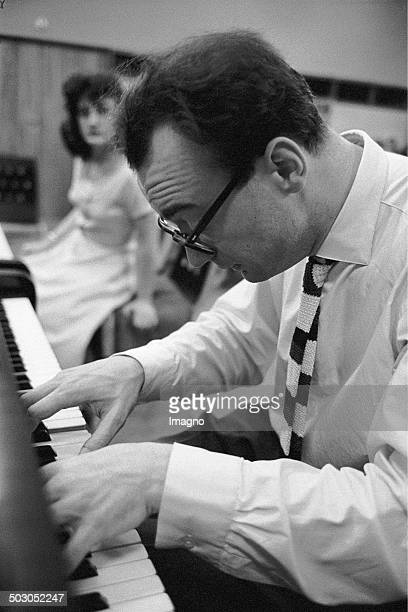 Master Class for Piano Led by pianist Alfred Brendel Photograph by Franz Hubmann Ca 1960