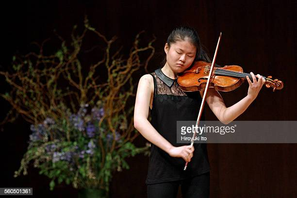 Master class with Giora Schmidt as part of 2015 StarlingDelay Symposium on Violin Studies at the Juilliard School on Saturday May 30 2015This...