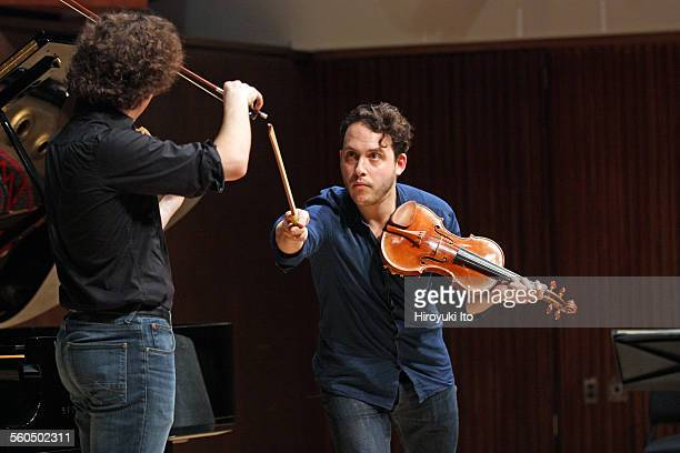"""Master class with Giora Schmidt as part of """"2015 Starling-Delay Symposium on Violin Studies"""" at the Juilliard School on Saturday, May 30, 2015.This..."""