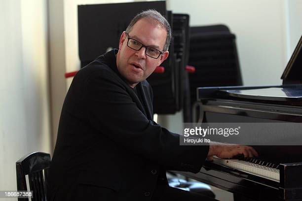 Master class with the pianist Bill Charlap at the Juilliard School on Friday afternoon, October 18, 2013.