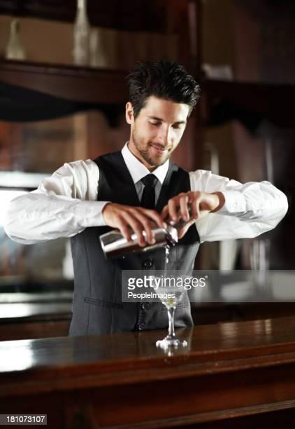 Master mixologist