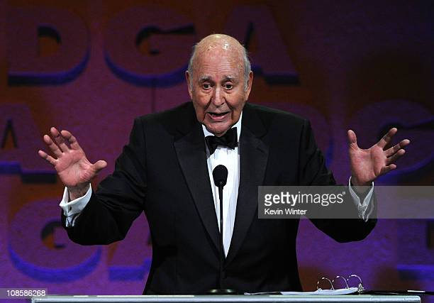 Master of Ceremonies Carl Reiner onstage at the 63rd Annual Directors Guild Of America Awards held at the Grand Ballroom at Hollywood Highland on...