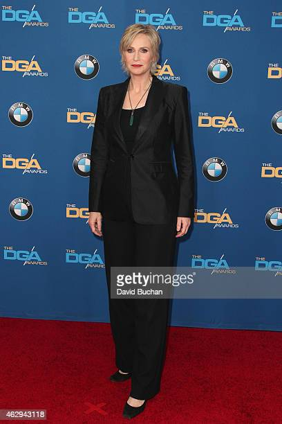 Master of Ceremonies Jane Lynch attends the 67th Annual Directors Guild Of America Awards at the Hyatt Regency Century Plaza on February 7 2015 in...