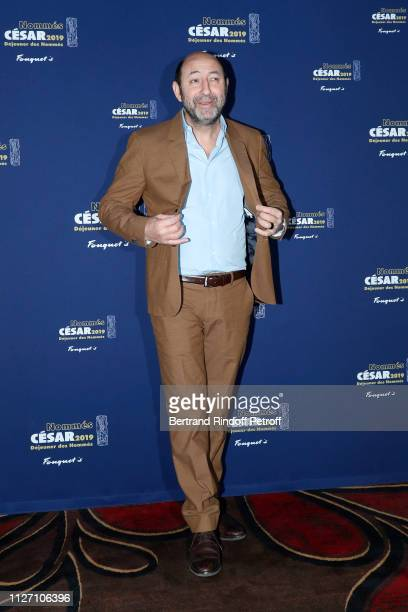 Master of Ceremonies Kad Merad attends the Cesar 2019 Nominee Luncheon at Le Fouquet's on February 03 2019 in Paris France
