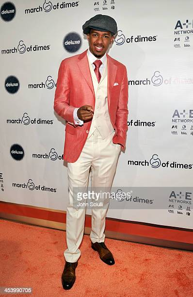 Master of Ceremonies Nick Cannon attends the March of Dimes Celebration of Babies Luncheon at Beverly Hills Hotel on December 6 2013 in Beverly Hills...