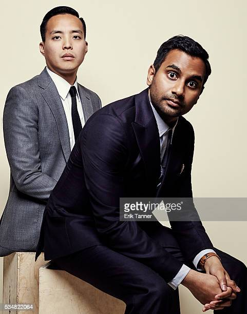 'Master of None' cocreators executive producers Alan Yang and Aziz Ansari pose for a portrait at the 75th Annual Peabody Awards Ceremony at Cipriani...