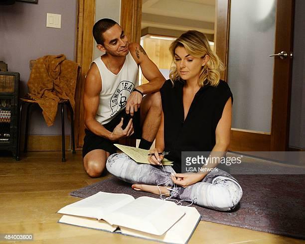 GRACELAND Master of Weak Ties Episde 310 Pictured Manny Montana as Joe Johnny Tuturro Serinda Swan as Paige Arkin