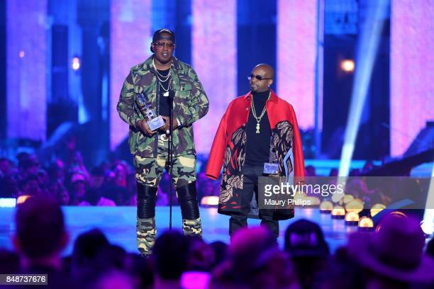Master P and Jermaine Dupri onstage VH1 Hip Hop Honors The 90s Game Changers at Paramount Studios on September 17 2017 in Los Angeles California
