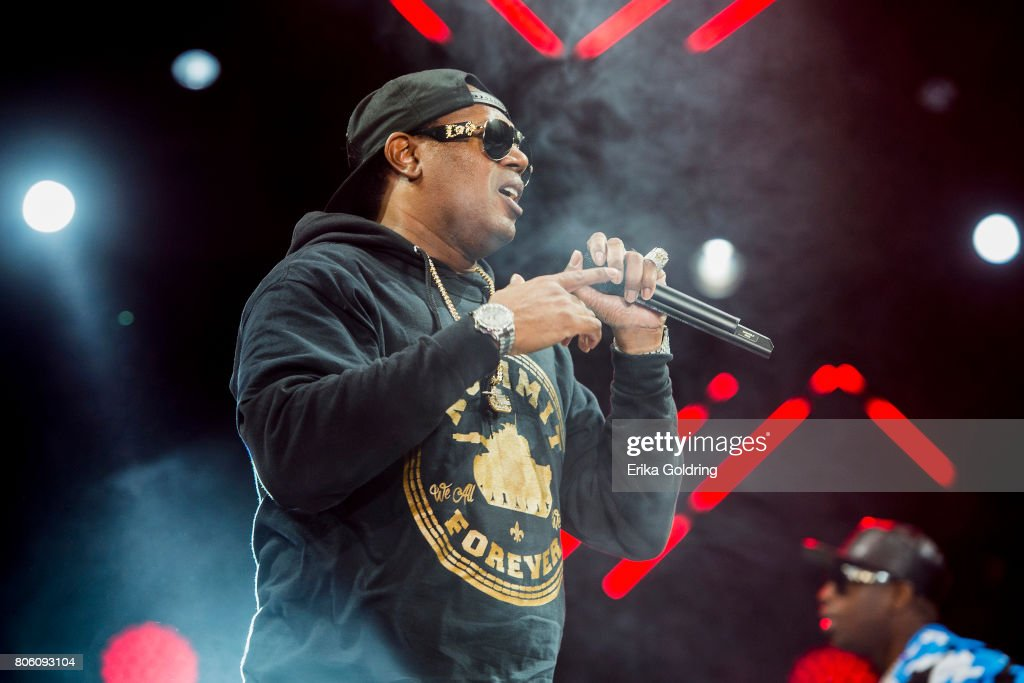 Master P and Silkk The Shocker perform onstage at the 2017