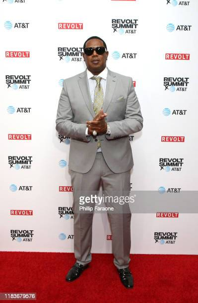 Master P attends the REVOLT X ATT 3Day Summit In Los Angeles Day 2 at Magic Box on October 26 2019 in Los Angeles California